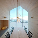 Split View Mountain Lodge por Reiulf Ramstad Architects