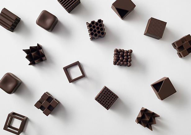 Arquitectura de chocolate