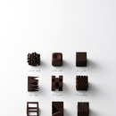 Chocolatexture por Nendo