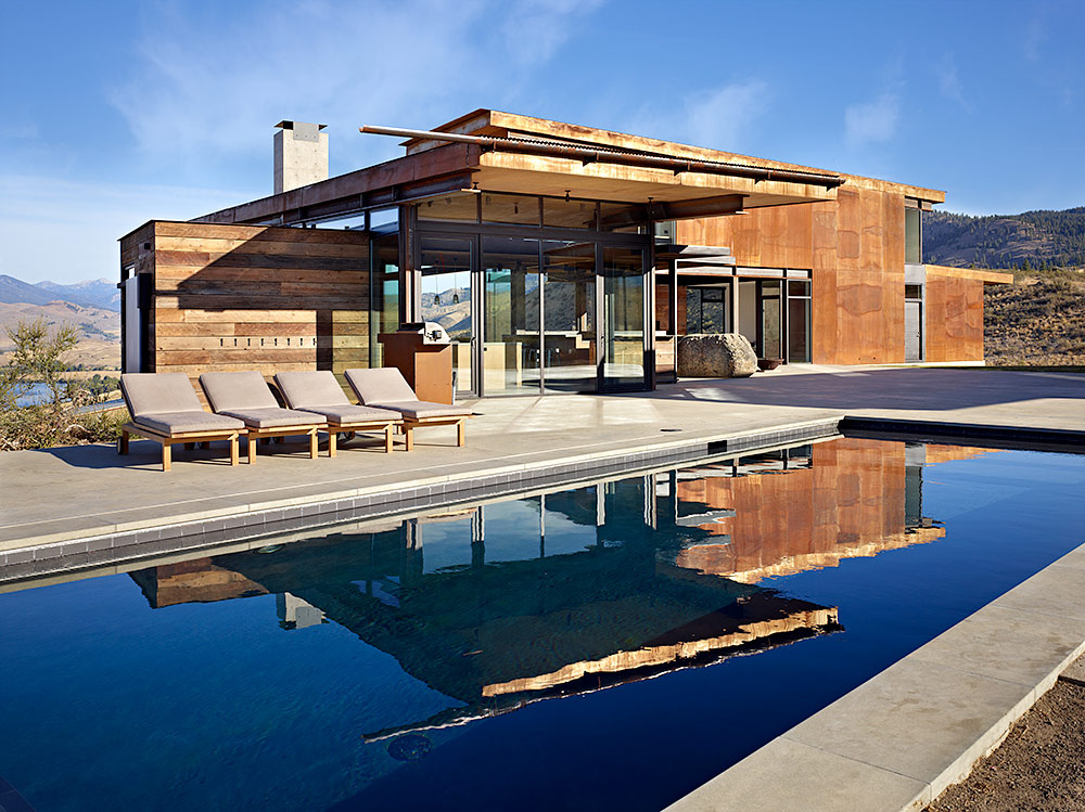 Casa en Washington por Tom Kundig