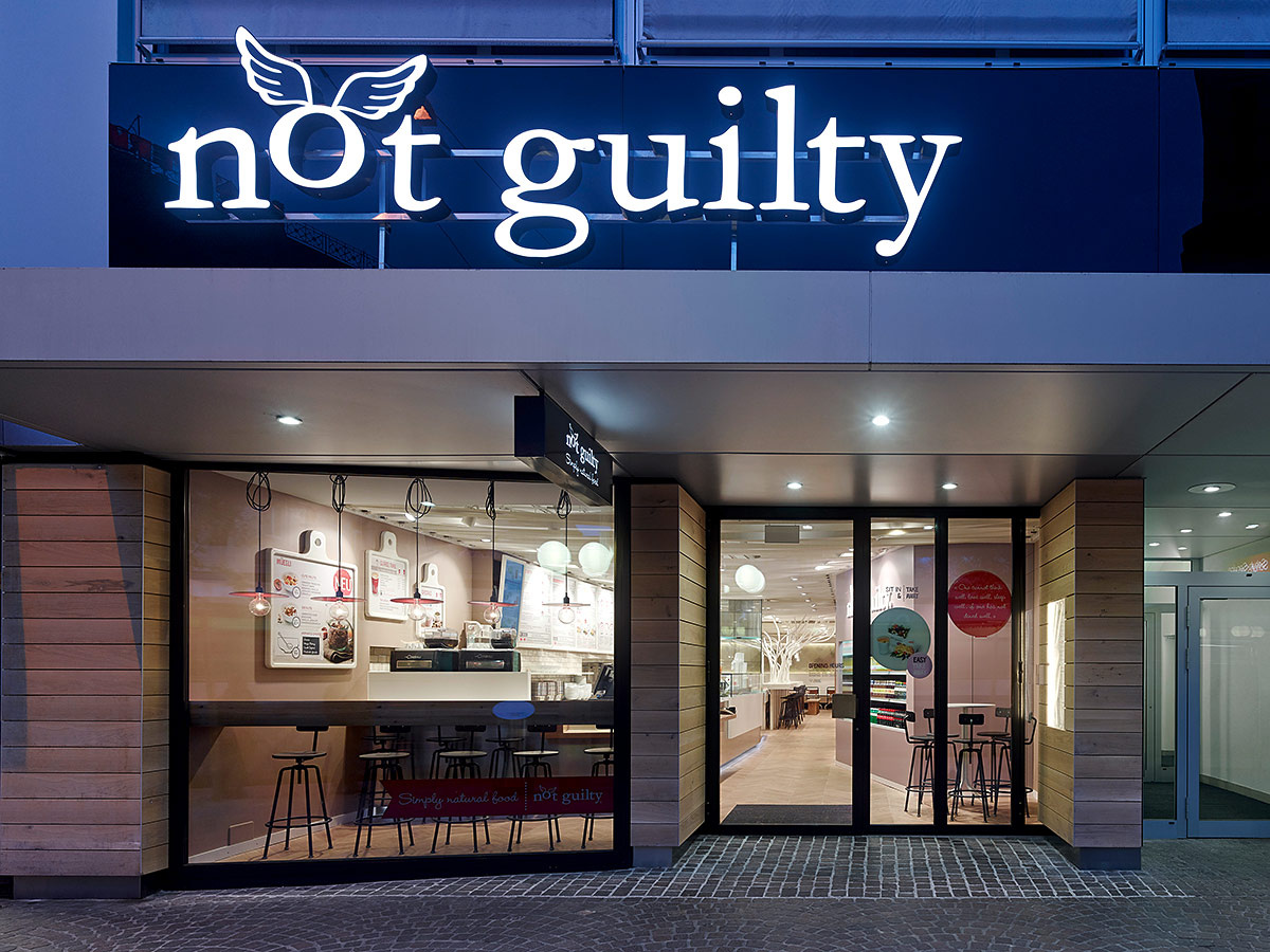 Restaurante Not Guilty