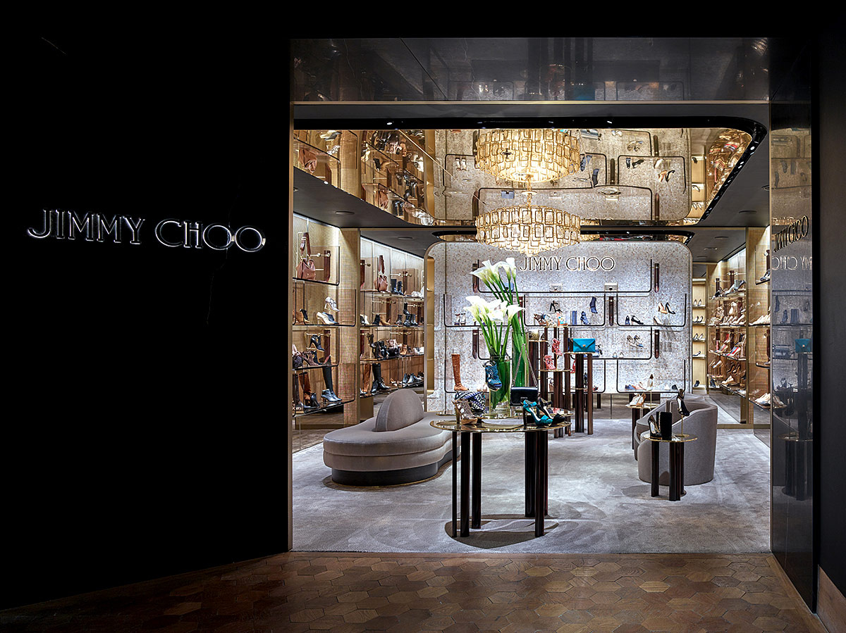 Boutique de Jimmy Choo en Selfridges