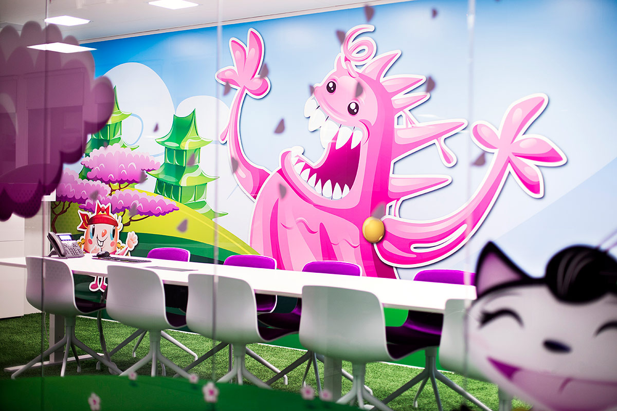 Oficinas de Candy Crush en Estocolmo