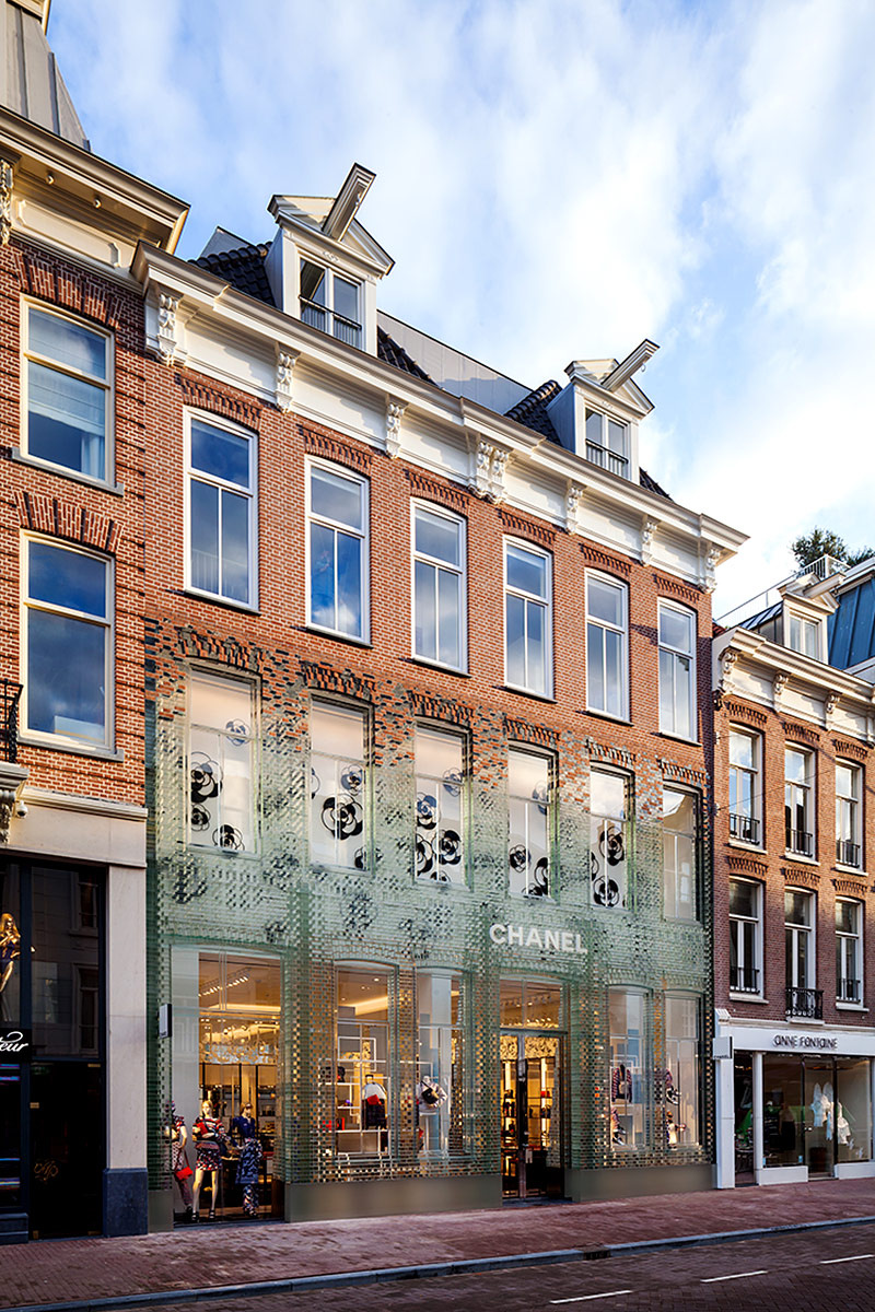 Boutique Chanel en Ámsterdam