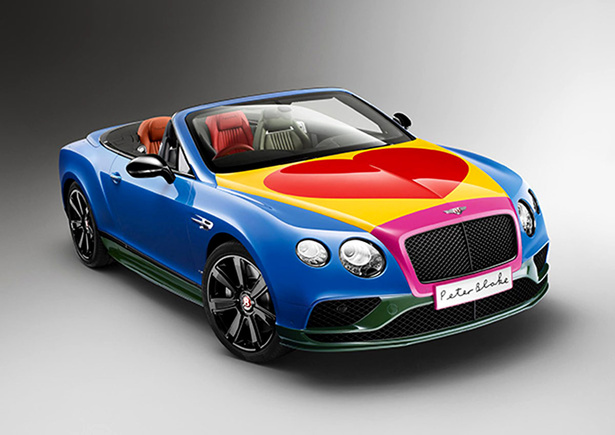 Bentley se vuelve Pop Art
