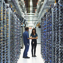 Proyecto artístico en Google Data Center