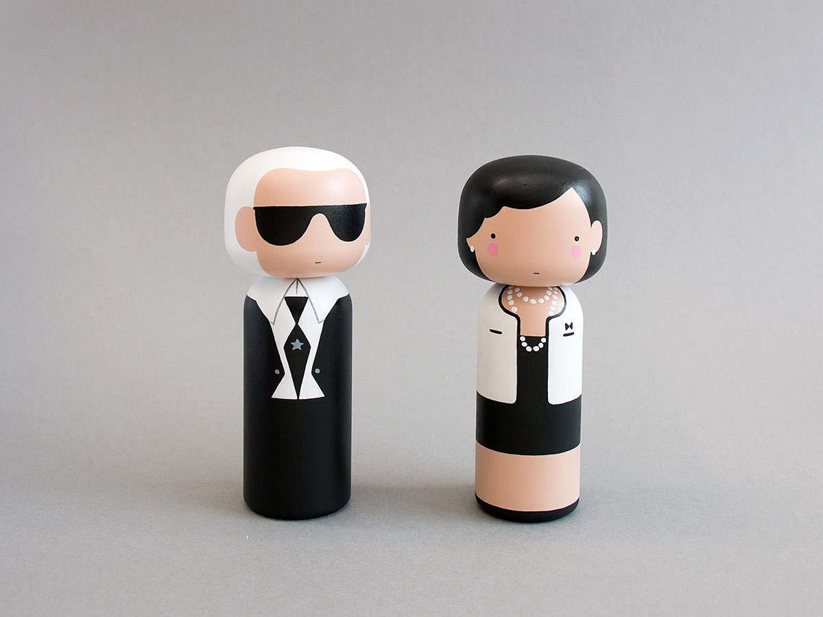 Figurines pop por Becky Kemp