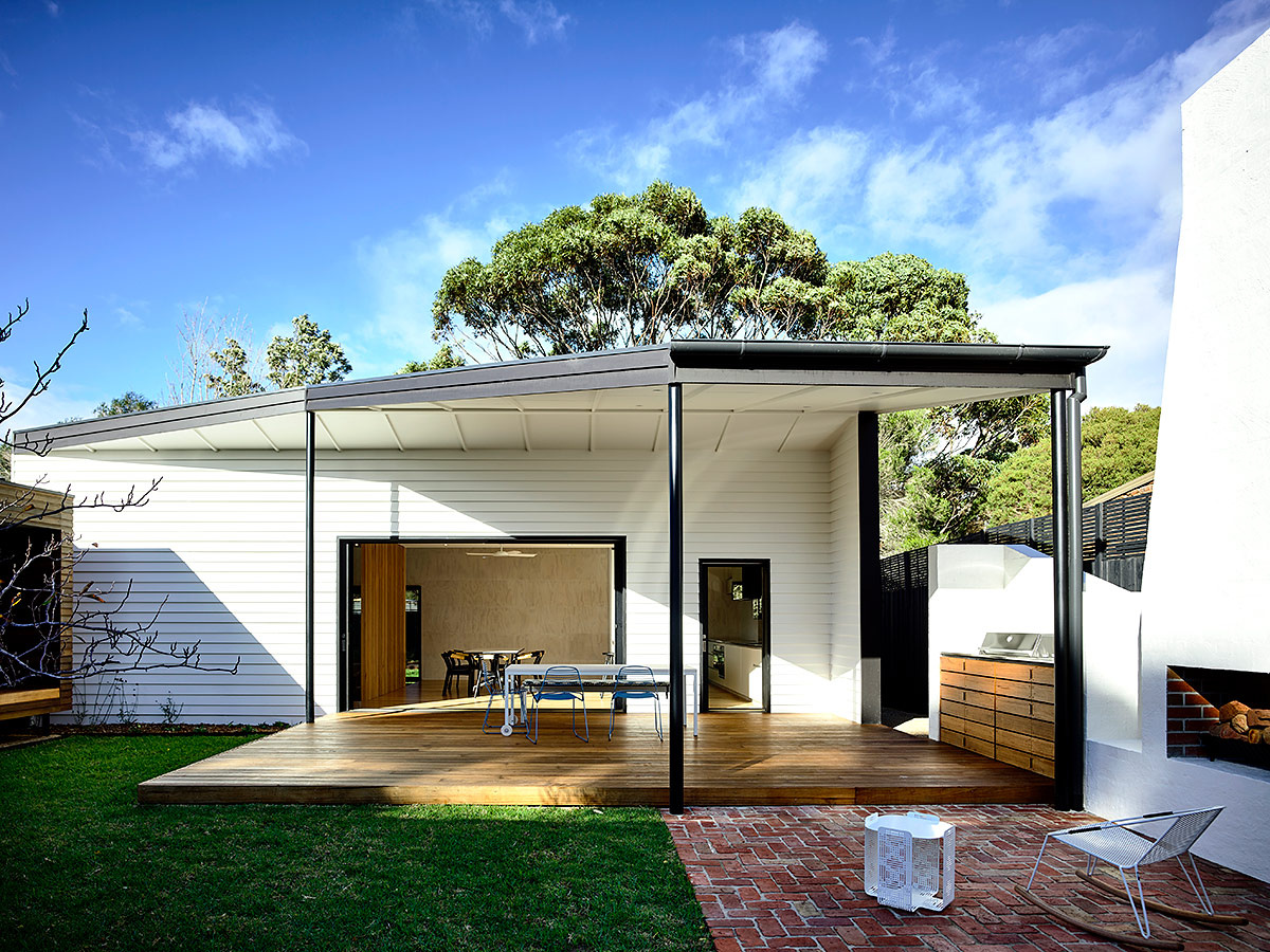 Casa australiana por Wolveridge Architects