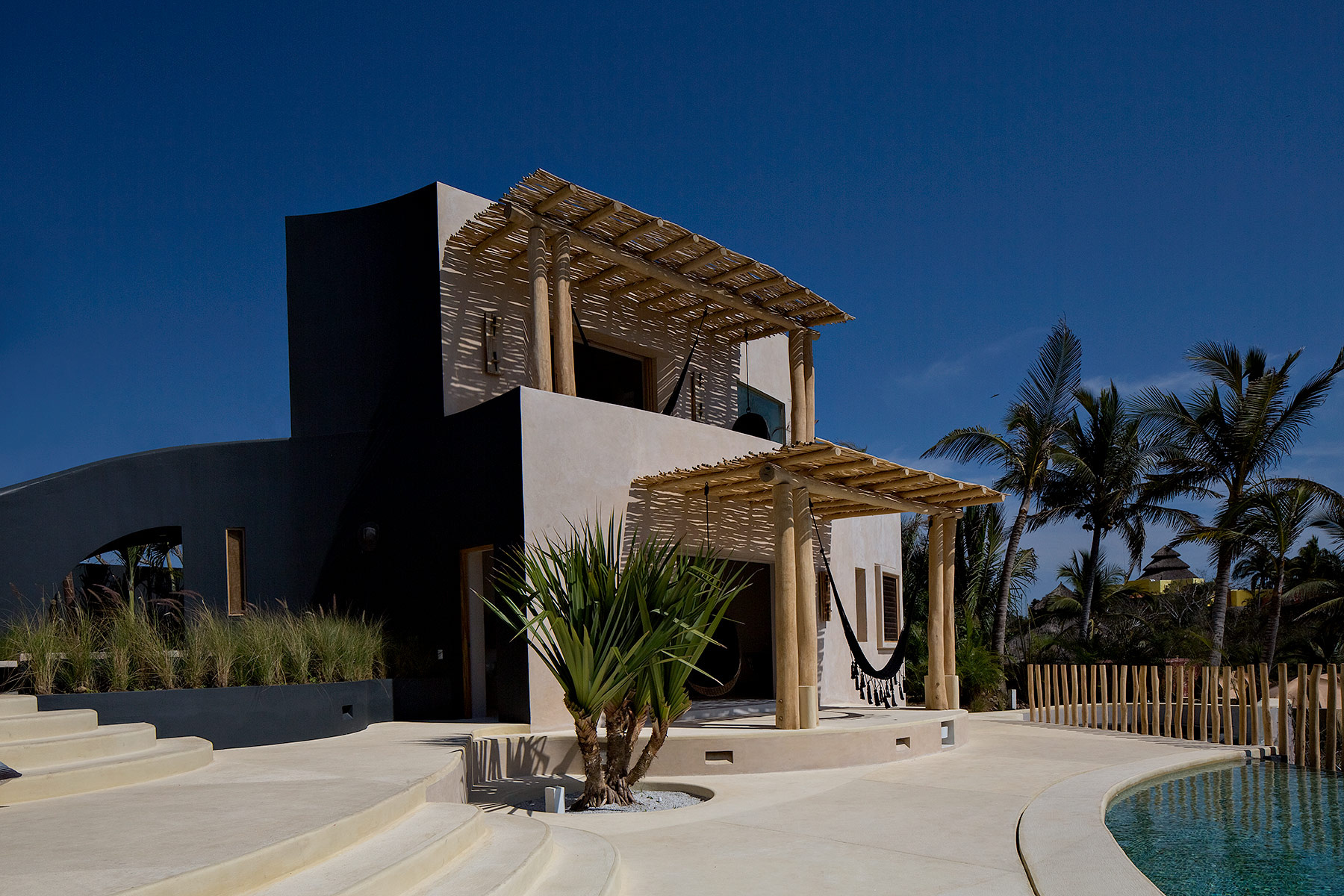Casa natural en Careyes