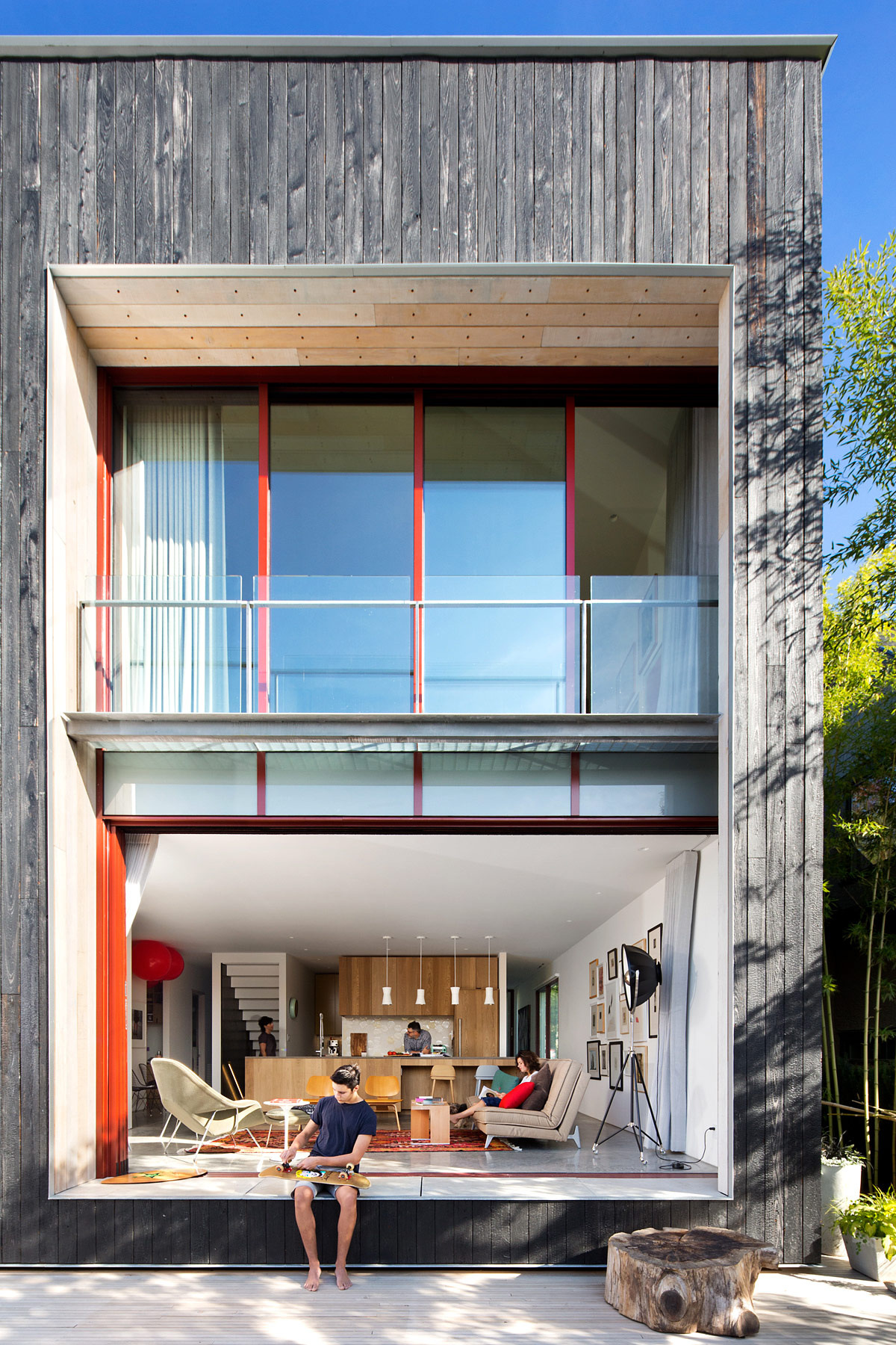 casa sustentable en canada por Measured Architecture