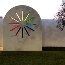 El edificio creativo del artista Ellsworth Kelly en Texas