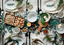 6 ideas decorativas para una mesa FESTIVA
